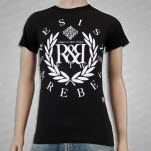 Resist  Rebel Elements Black T-Shirt