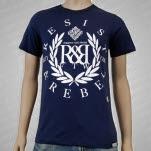 Resist  Rebel Elements Navy T-Shirt