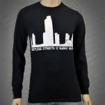 Restless Streets Albany Black Long Sleeve Shirt