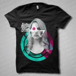 Restless Streets Babe Black T-Shirt