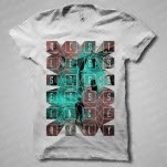 Restless Streets Hollywood Squares White T-Shirt