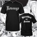 Revenge Heathen Nation Black T-Shirt