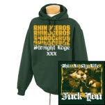 Rhinoceros This Is My Life Forest Green Pullover