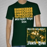 Rhinoceros This Is My Life Forest Green T-Shirt