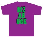 Righteous Jams Biz As Uge Purple T-Shirt