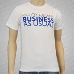 Righteous Jams Righteous Jams Business As Usual Wh T-Shirt