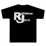 Righteous Jams Def Mock Black T-Shirt