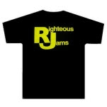 Righteous Jams Def Mock Yellow Print T-Shirt