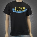 Riot Fest Descendants 2011 Faded Black T-Shirt