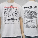 Riot Fest Event Denver White T-Shirt