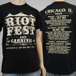 Riot Fest Event 2013 Black T-Shirt