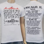 Riot Fest Event Chicago 2013 White T-Shirt