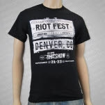Riot Fest Shitshow Black T-Shirt