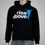 Rise Above Logo Black Pullover