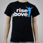 Rise Above Logo Black T-Shirt