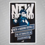 Rise Above New England Screen Printed w Tube Poster