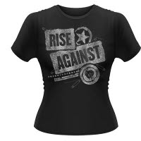 Rise Against Patched Up Girlie T-Shirt