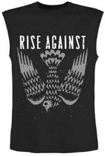 Rise Against Fall Sleeveless T-Shirt Adult