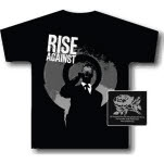 Rise Against Business Man Black T-Shirt
