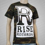 Rise Records Big R Logo Camo T-Shirt