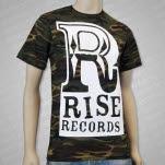 Rise Records Big R Logo Camo T-Shirt