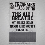 Rise Records Freshmen Class Of 12 Tour Poster