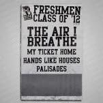 Rise Records Freshmen Class Of 12 Tour Poster