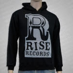 Rise Records Logo Black Pullover