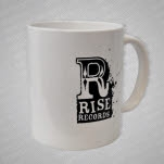 Rise Records Logo White Coffee Mug
