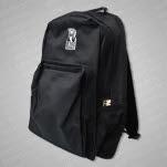 Rise Records R Logo Black Backpack