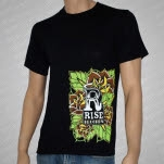Rise Records Tattoo Black T-Shirt