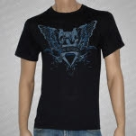 Rise Records Wings Black T-Shirt