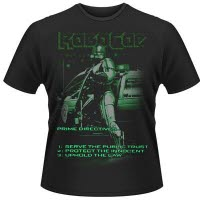 Robocop Uphold The Law T-Shirt