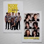 Rocky Loves Emily Band Double Sided Poster