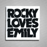 Rocky Loves Emily Logo Sticker