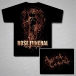 Rose Funeral Abort Black T-Shirt