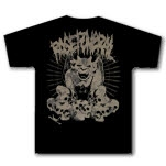 Rose Funeral Gargoyle Black T-Shirt