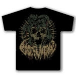 Rose Funeral Medusa Black T-Shirt