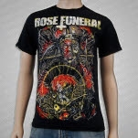 Rose Funeral Spiked Priest Black T-Shirt