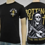 Rotting Out Reaper Black T-Shirt