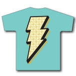Royal Family Clothing Bolt Light Blue T-Shirt