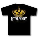 Royal Family Clothing Crown Black T-Shirt