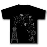 Royal Family Clothing Oil Black T-Shirt