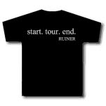 Ruiner StartTourEnd Black T-Shirt