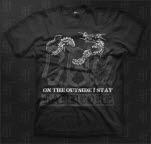 S O S Dragon Black T-Shirt