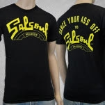 Salsoul Records Dance Your Ass Off Black T-Shirt