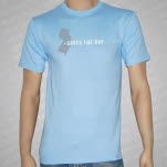 Saves The Day State Light Blue T-Shirt