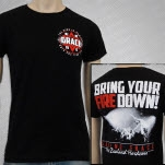Saving Grace Fire Black T-Shirt