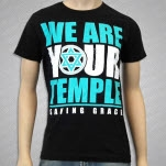 Saving Grace Temple Black T-Shirt
