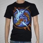 Scarlett OHara Swordfish Black T-Shirt